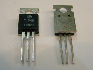 Bdx53f NPN transistor 60w 160v 8a